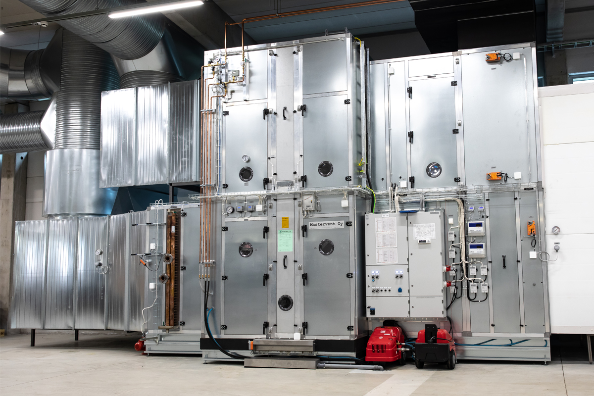 Our Sastamala Factory Has a Brand New Air-Conditioning System!