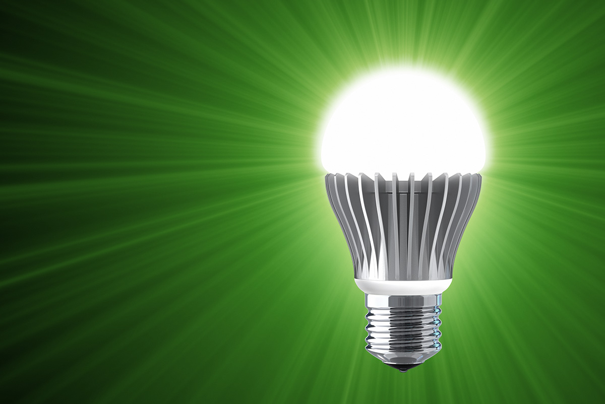 FinnProfiles' Fluorescent Lights Were Replaced with Energy Efficient LED-lights