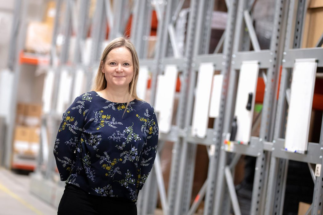 Purchasing Manager Paula Anttisaari Secures Cost-effective Materials for FinnProfiles' Customers